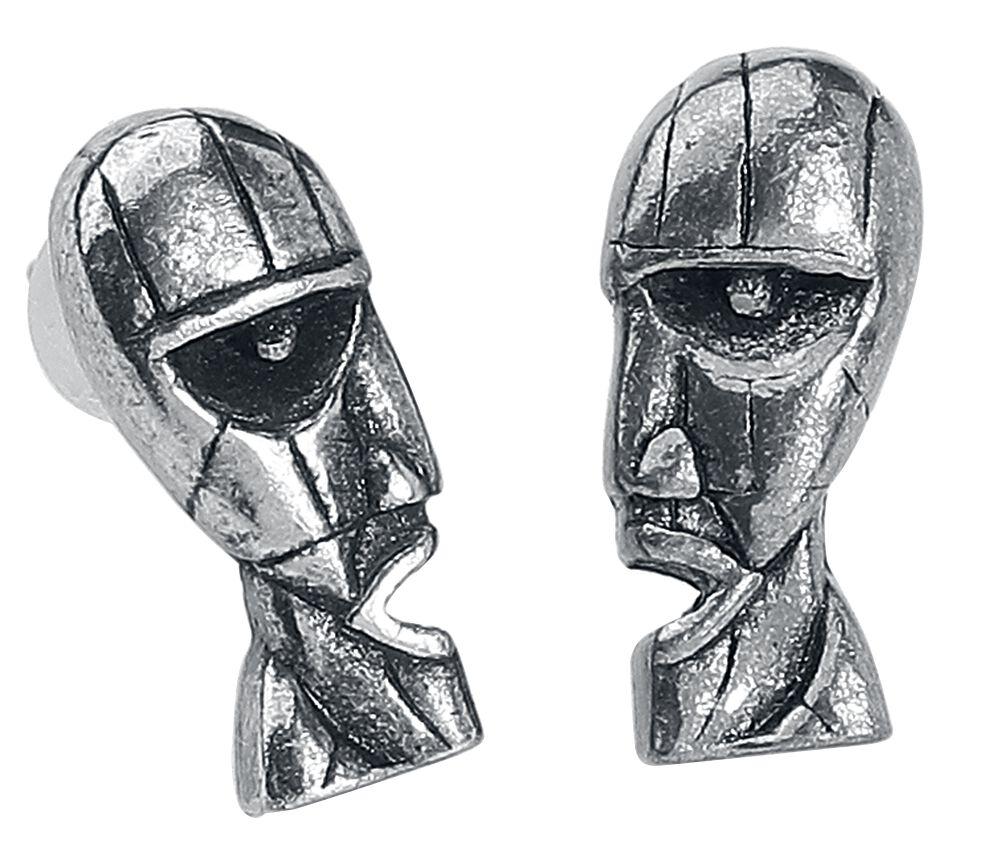 Image of   Pink Floyd Division Ørestik sæt sølvfarvet