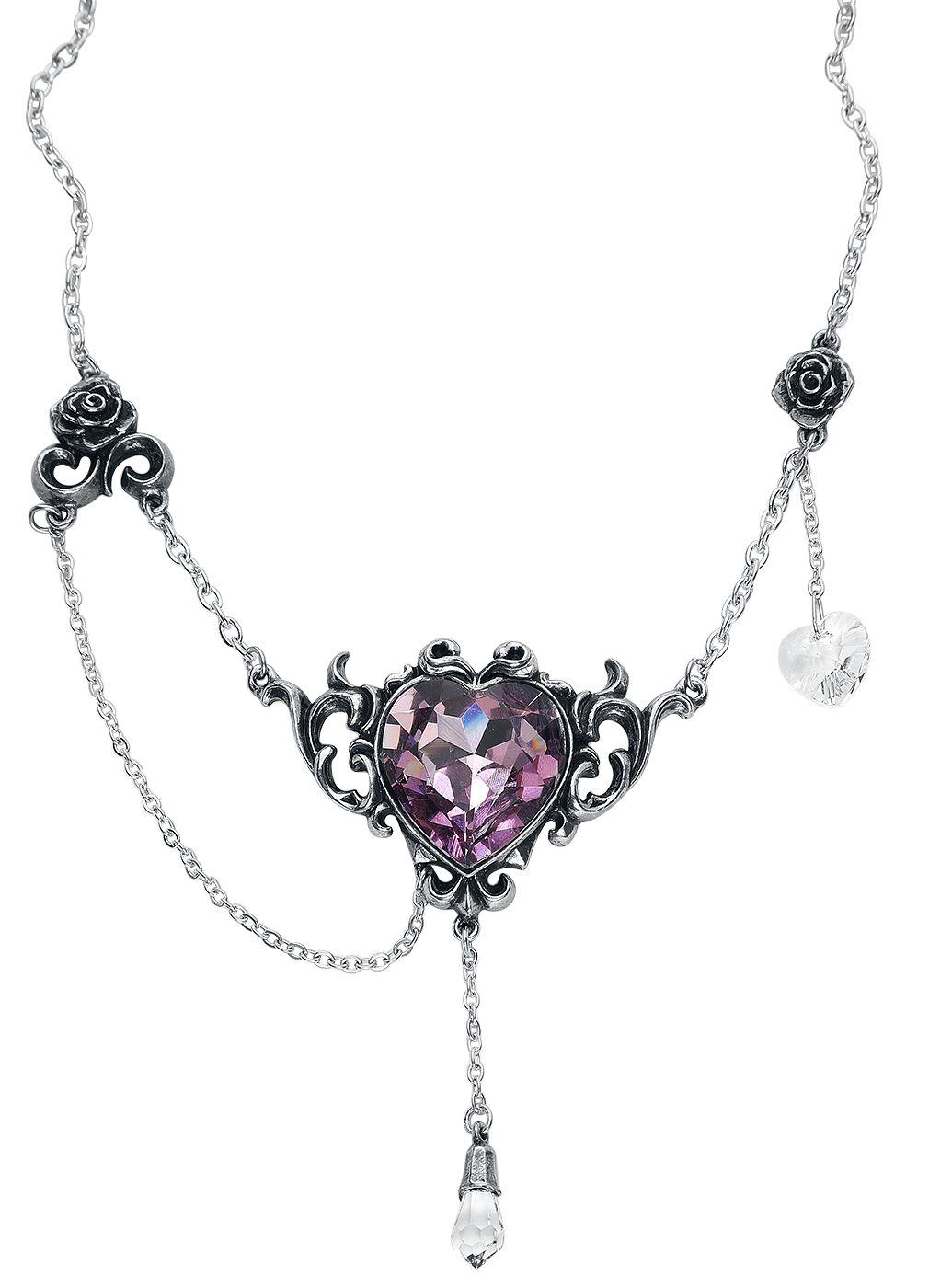 Image of   Alchemy Gothic Countess Kamila Halskæde sølvfarvet