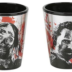 The Walking Dead Personnages Set verres à shots multicolore