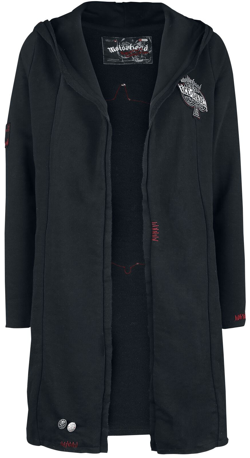 Image of   Motörhead EMP Signature Collection Pigecardigan sort