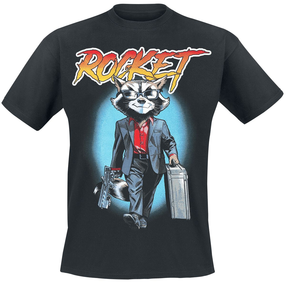 Image of   Guardians Of The Galaxy Rocket 80's Vice T-Shirt sort