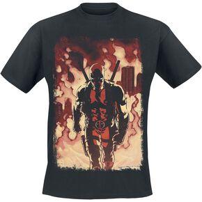 Deadpool Firewalk T-shirt noir
