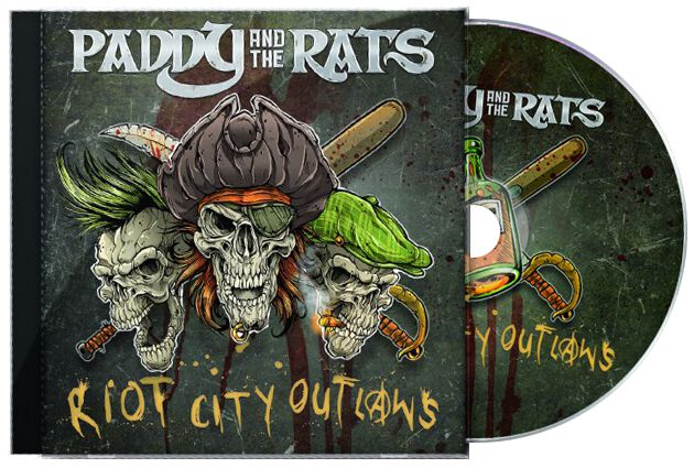 Paddy And The Rats Riot city outlaws CD Standard