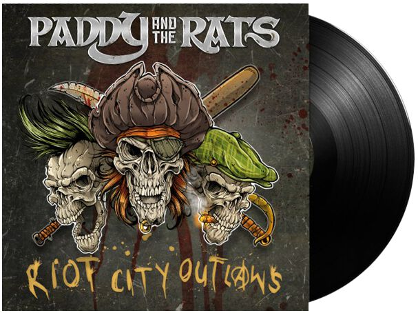Paddy And The Rats Riot city outlaws LP Standard