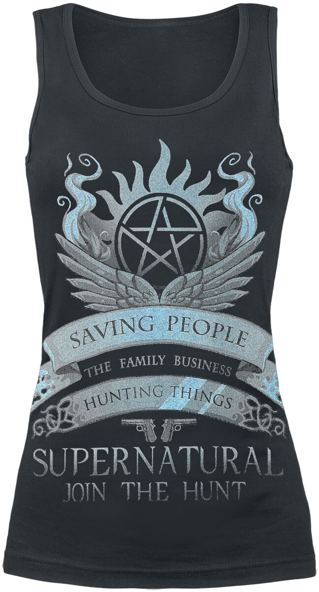 Image of   Supernatural Saving People Girlie top sort