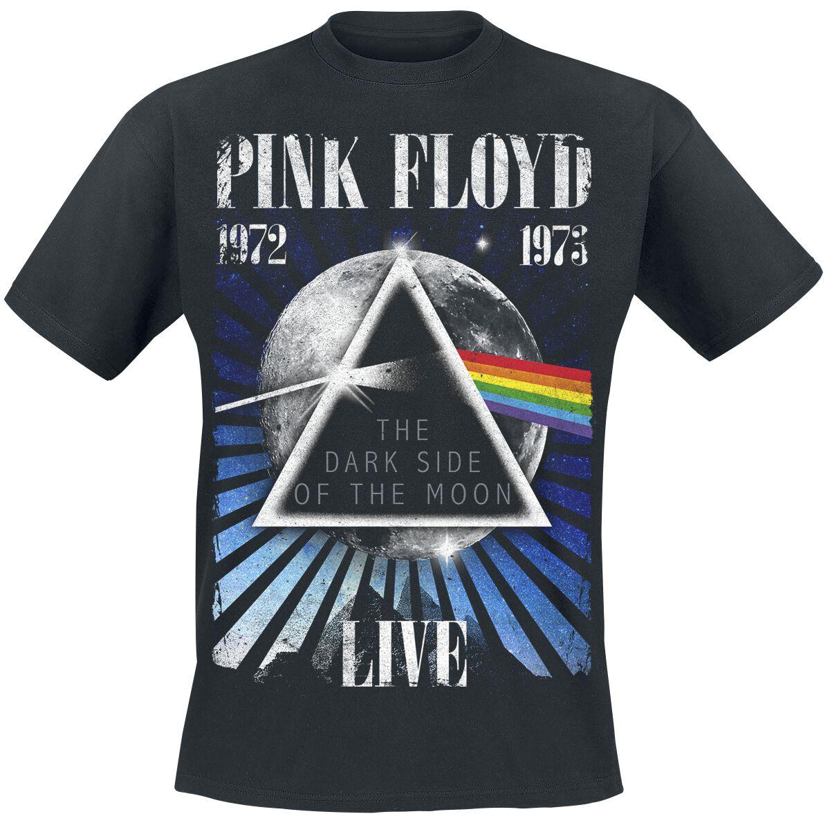 Image of   Pink Floyd Dark Side - Space T-Shirt sort