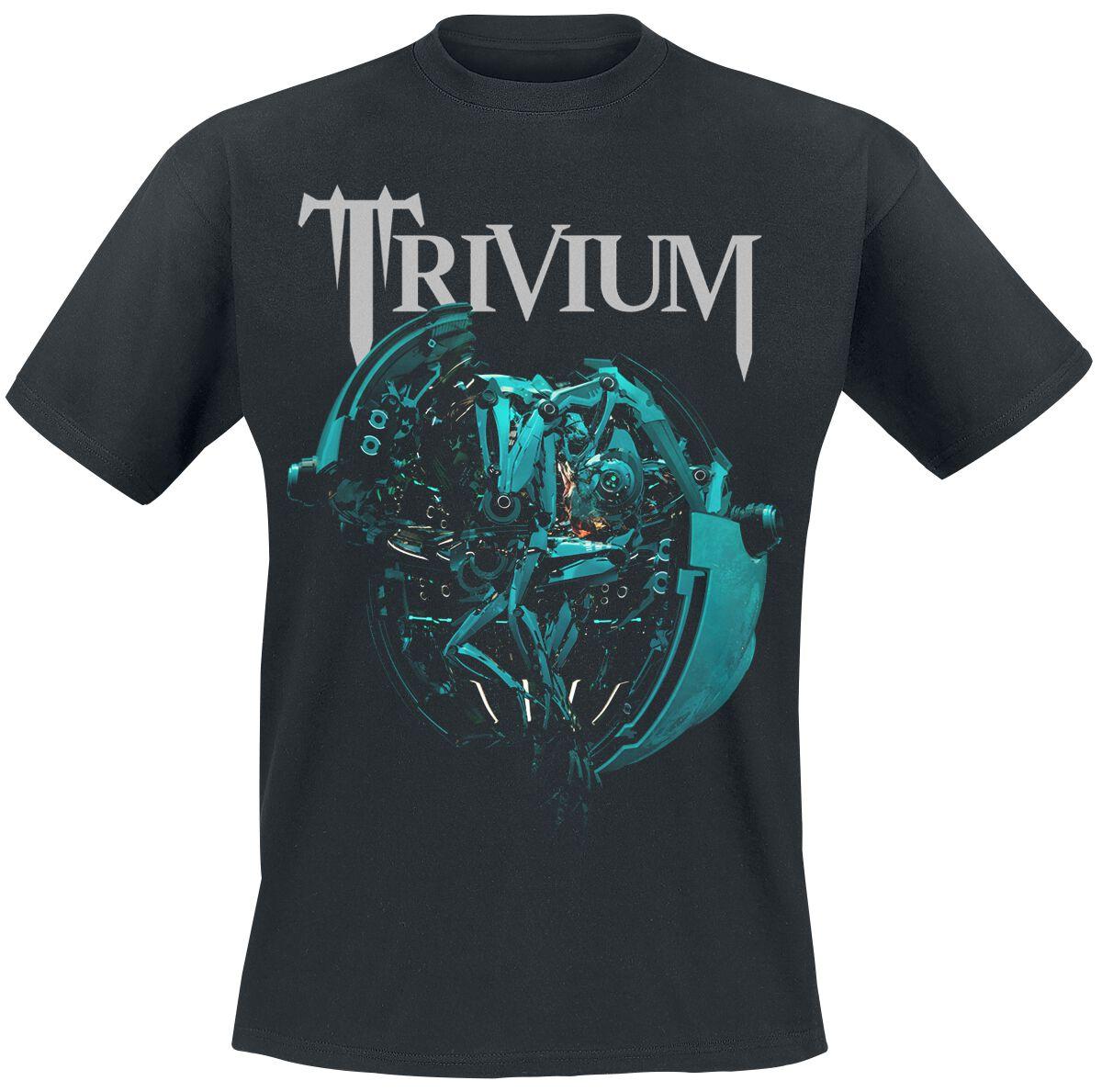 Zespoły - Koszulki - T-Shirt Trivium Orb T-Shirt czarny - 376929