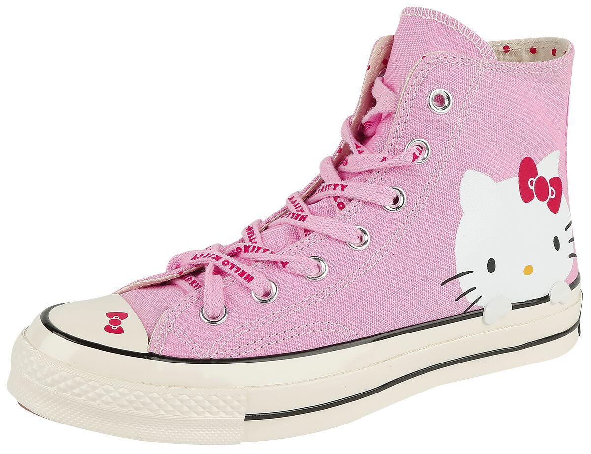 Image of   Converse Hello Kitty - Chuck Taylor 70 Hi Sneakers lys pink
