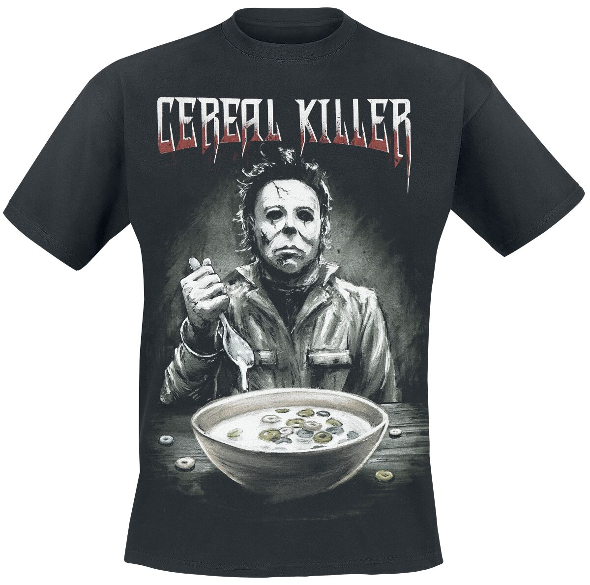 Image of   Halloween Cereal Killer T-Shirt sort