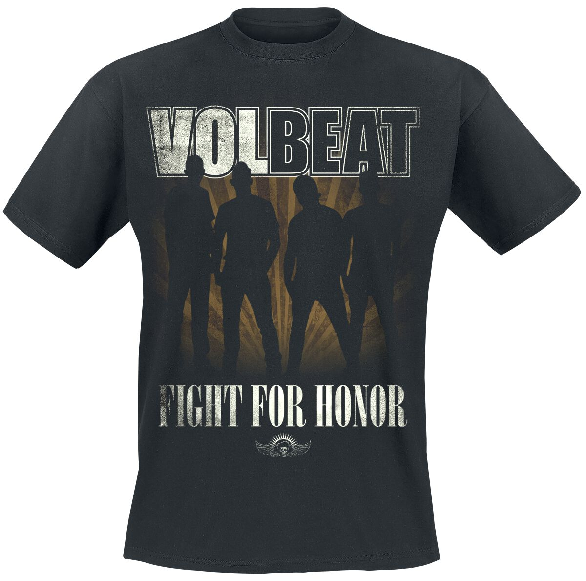 Image of   Volbeat Fight For Honor T-Shirt sort
