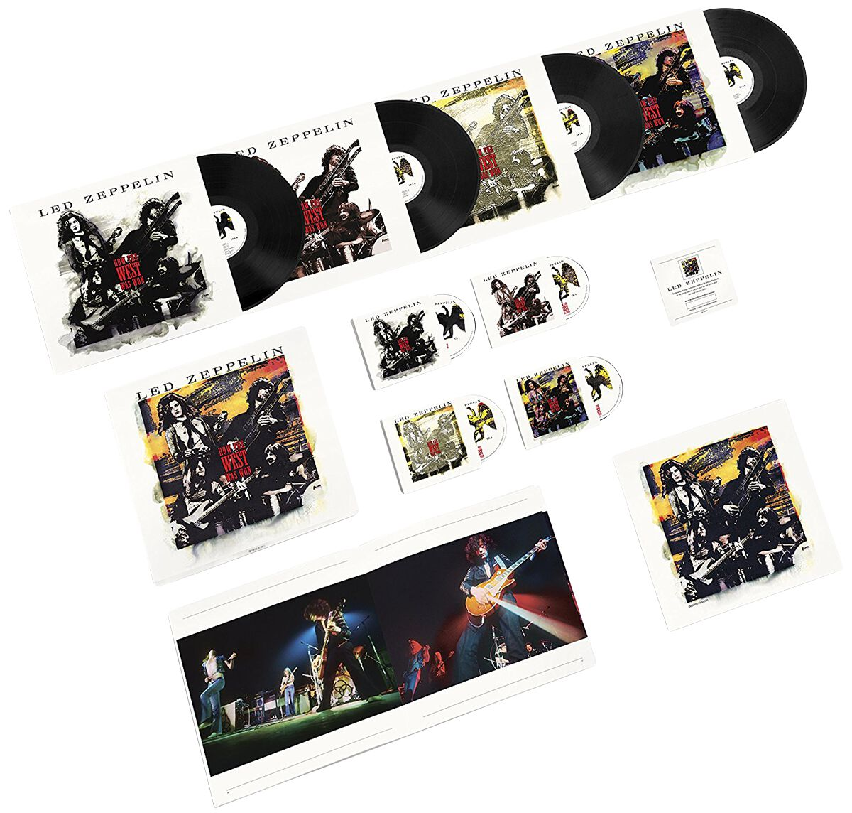 Led Zeppelin How The West Was Won 3CD & 4-LP & DVD standard