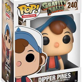 Figurine Pop! Souvenirs de Gravity Falls Dipper Pines