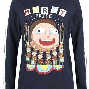 Rick & Morty Morty Pride Sweat-shirt Femme bleu foncé