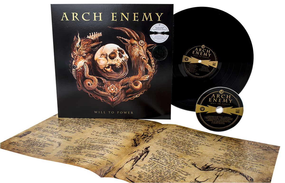 Image of   Arch Enemy Will to power LP & CD standard