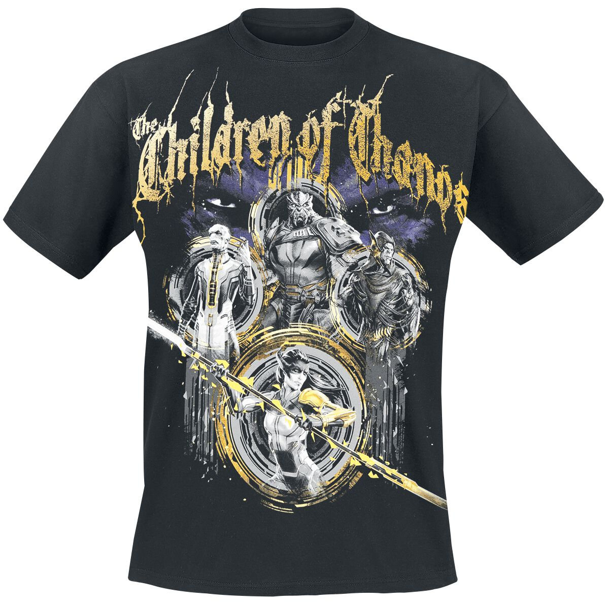 Image of   Avengers Infinity War - Children Of Thanos T-Shirt sort