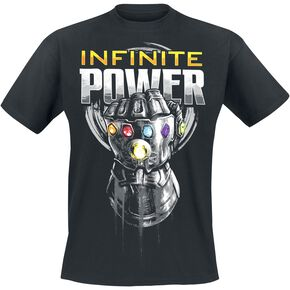 Avengers Infinity War - Infinite Power T-shirt noir