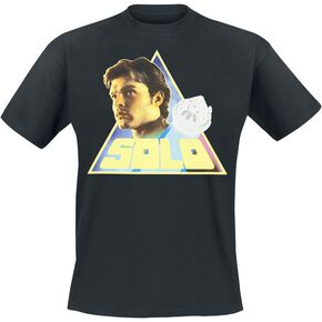 Star Wars Solo: A Star Wars Story - Retro Triangle Solo T-shirt noir