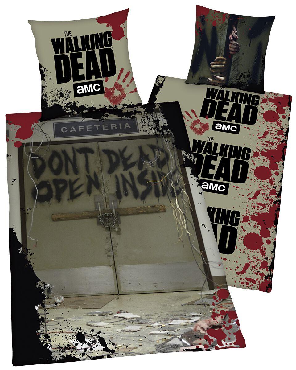 Image of   The Walking Dead Don't Open Dead Inside Sengesæt multifarvet
