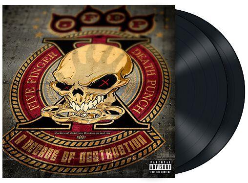 Image of   Five Finger Death Punch A decade of destruction 2-LP standard