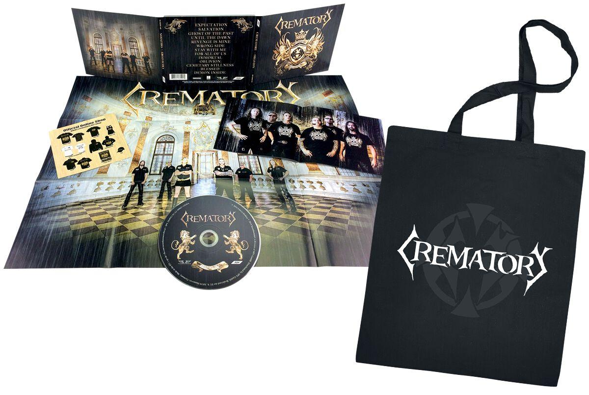 Image of   Crematory Oblivion 2-LP & CD & Stoftaske guld