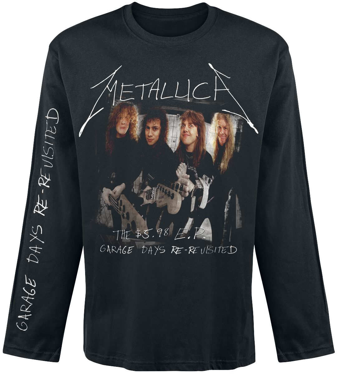 Image of   Metallica Garage Days Re-Revisited Langærmet sort