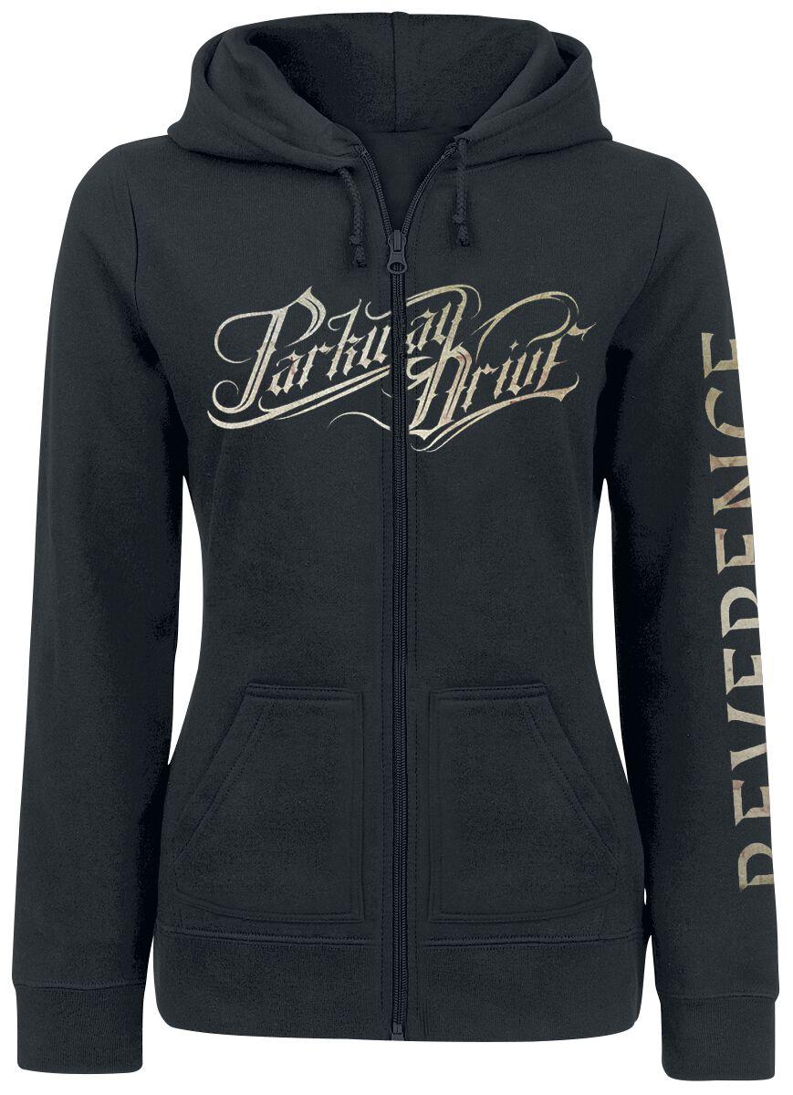 Parkway Drive Reverence Bluza z kapturem rozpinana damska czarny