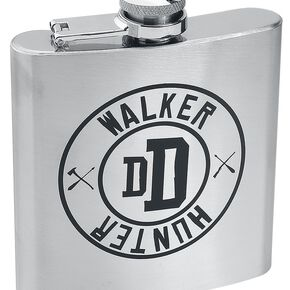 The Walking Dead Walker Hunter - Flasque Bouteille chrome