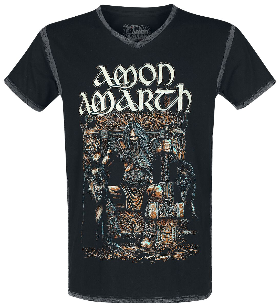 Image of   Amon Amarth EMP Signature Collection T-Shirt sort-brun
