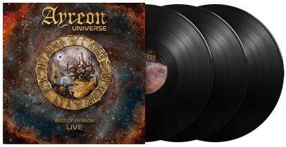 Image of Ayreon Ayreon universe - Best of Ayreon live 3-LP Standard