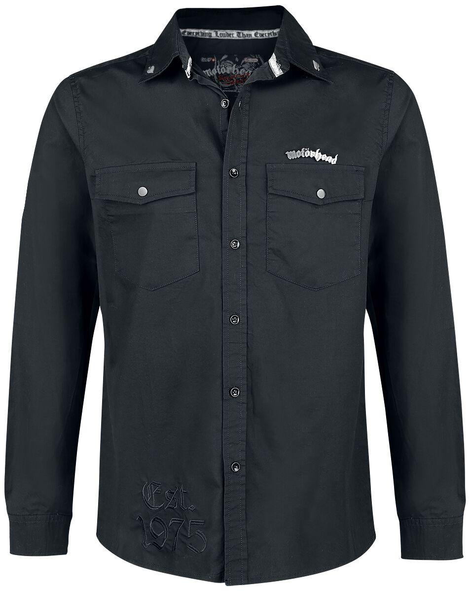 Image of   Motörhead EMP Signature Collection Skjorte sort