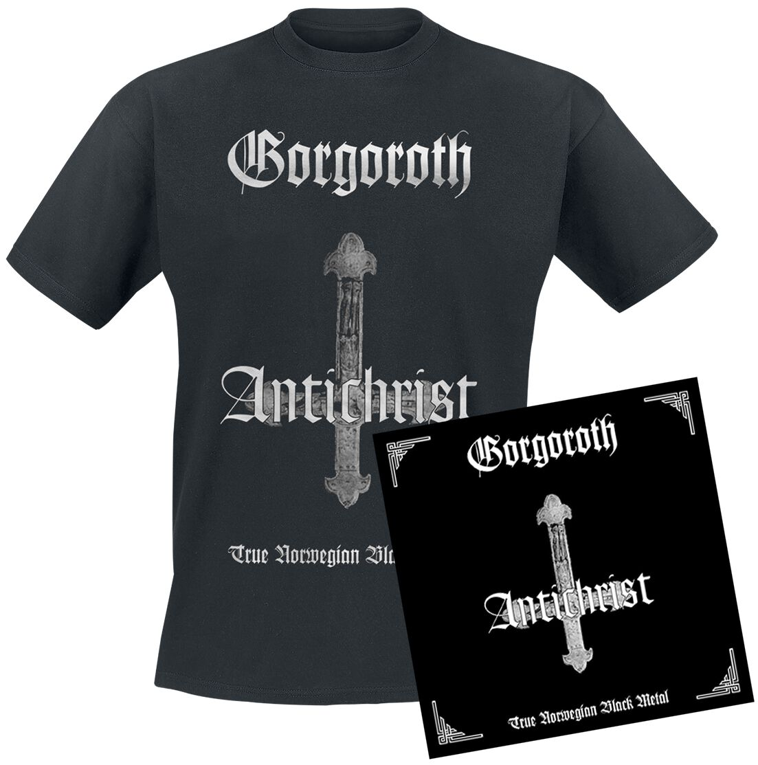 Image of   Gorgoroth Antichrist CD & T-Shirt standard