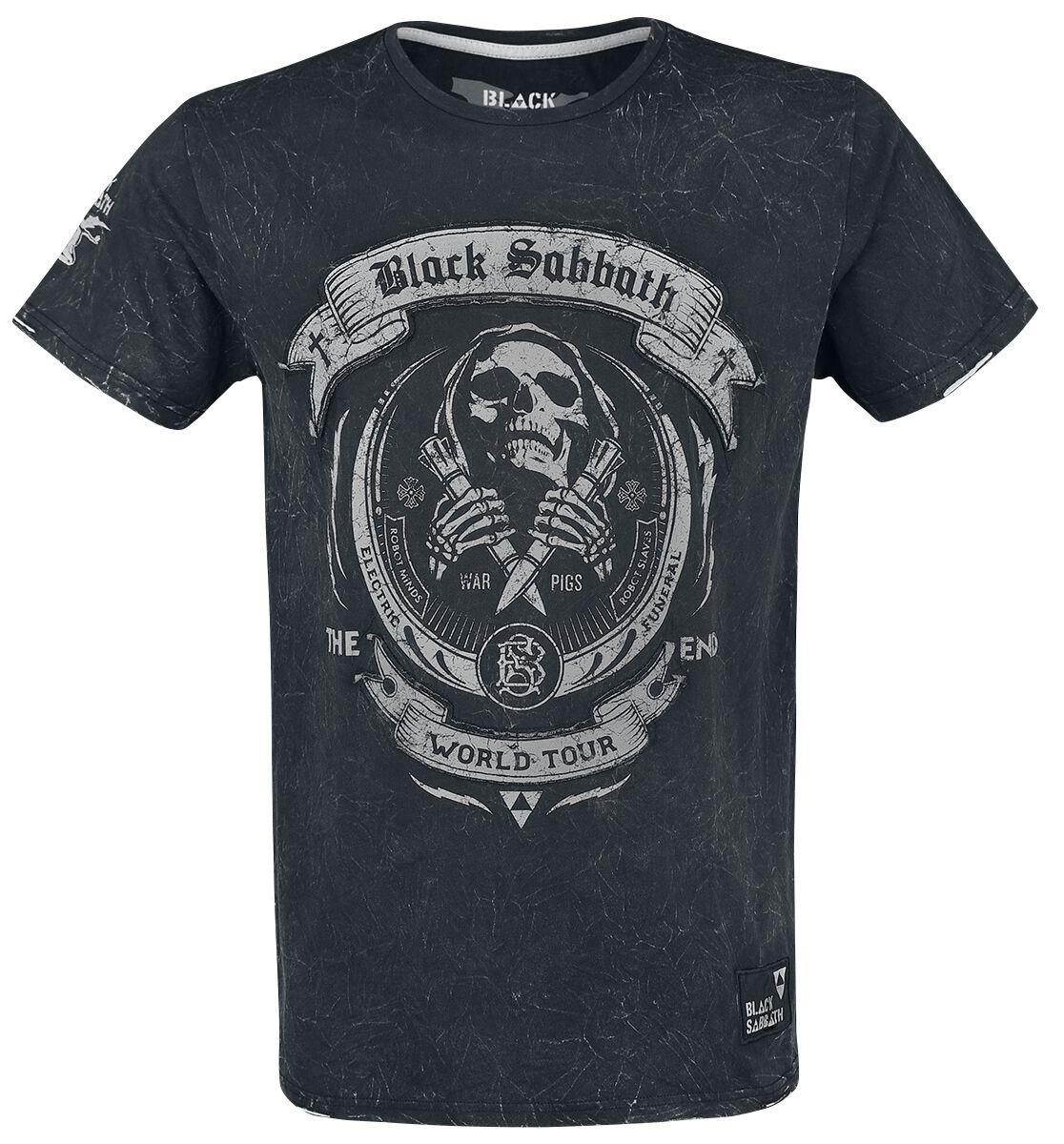 Image of   Black Sabbath EMP Signature Collection T-Shirt koks