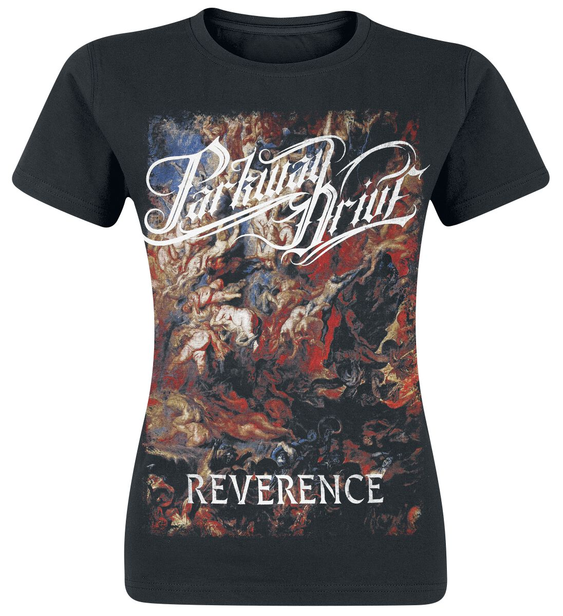 Image of   Parkway Drive Reverence - Cover Girlie trøje sort
