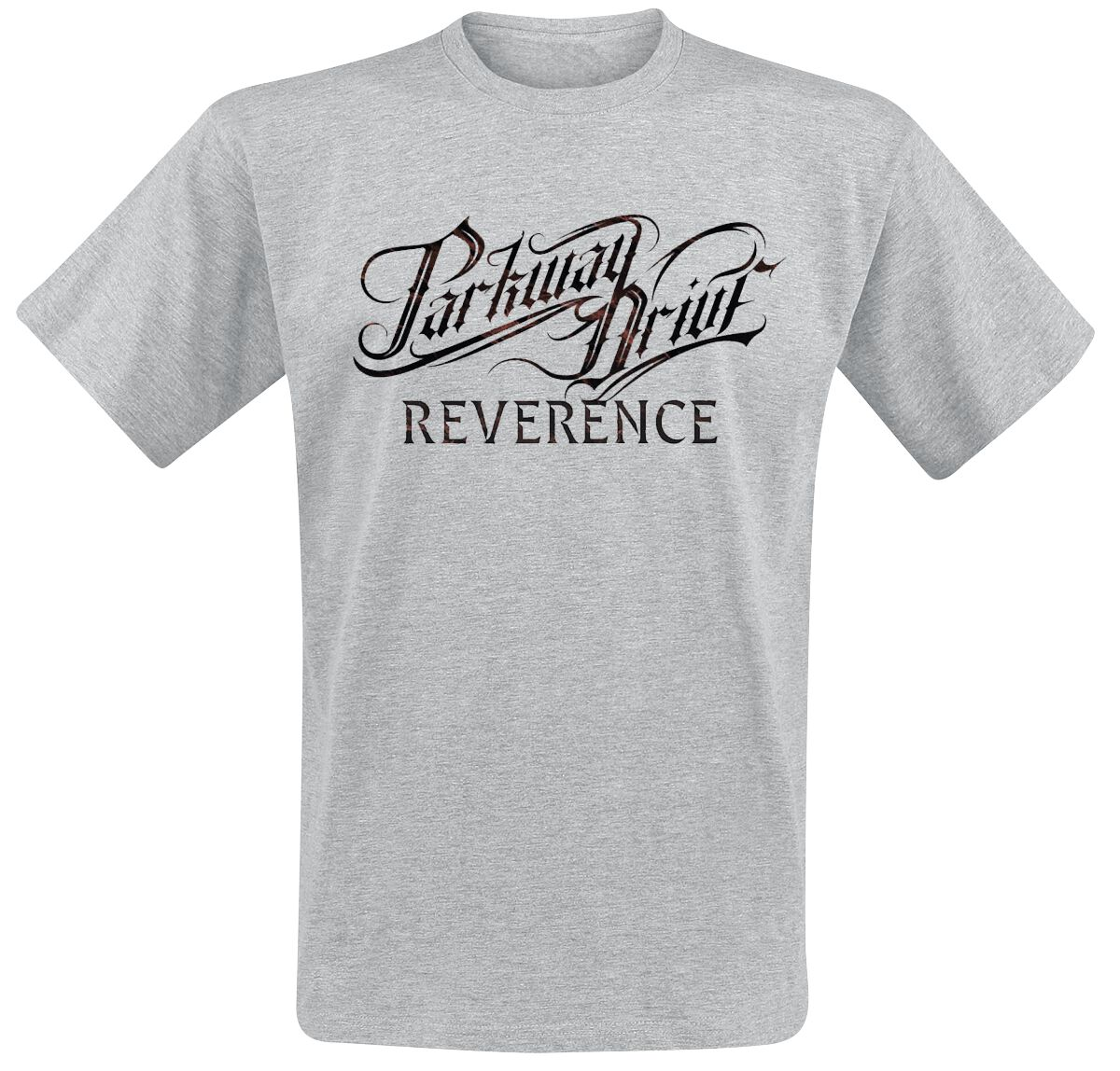 Image of   Parkway Drive Reverence Logo T-Shirt grå