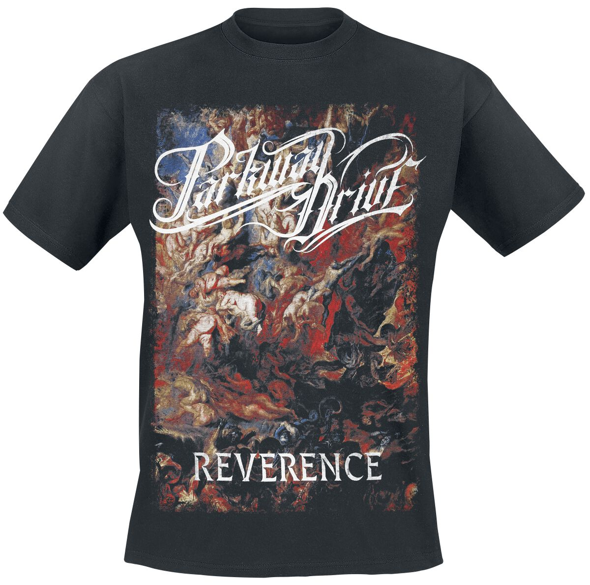 Image of   Parkway Drive Reverence - Cover T-Shirt sort