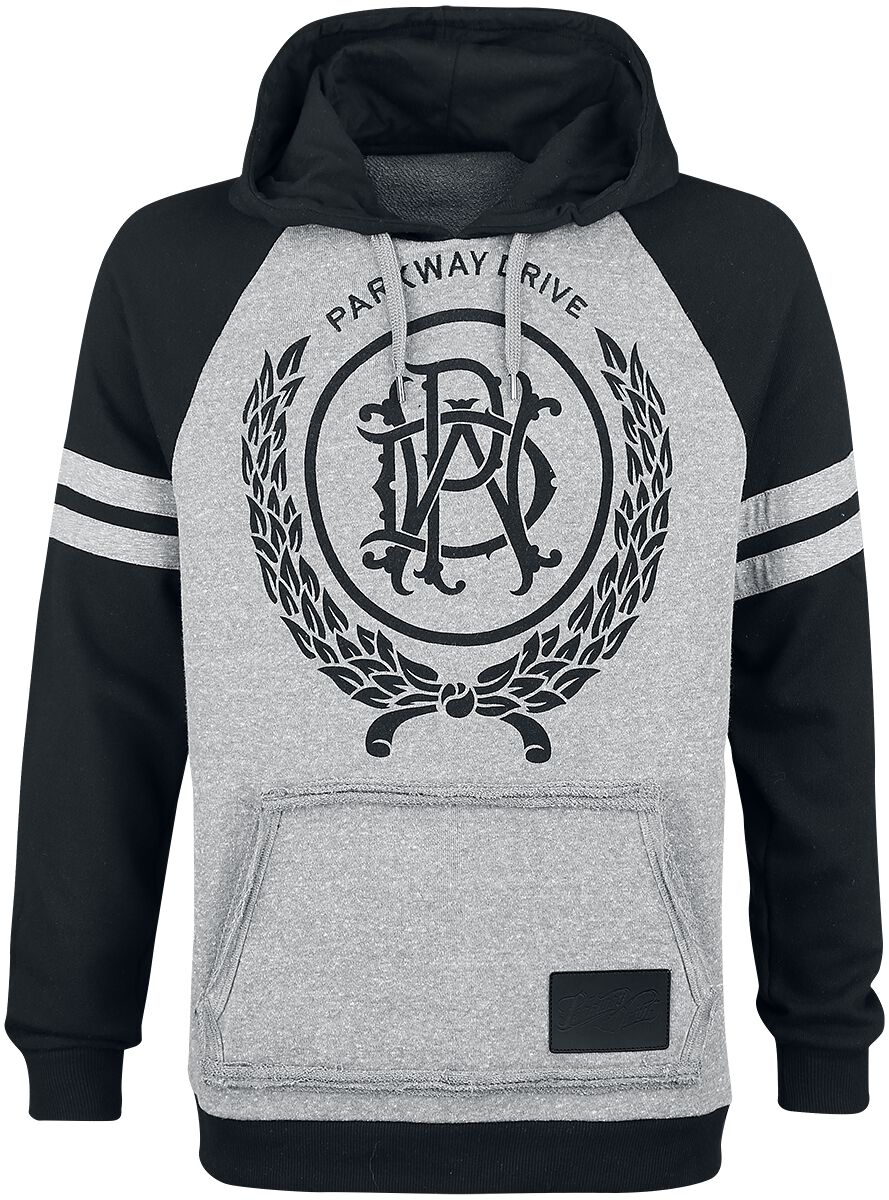 Image of   Parkway Drive EMP Signature Collection Hættetrøje blandet grå-sort