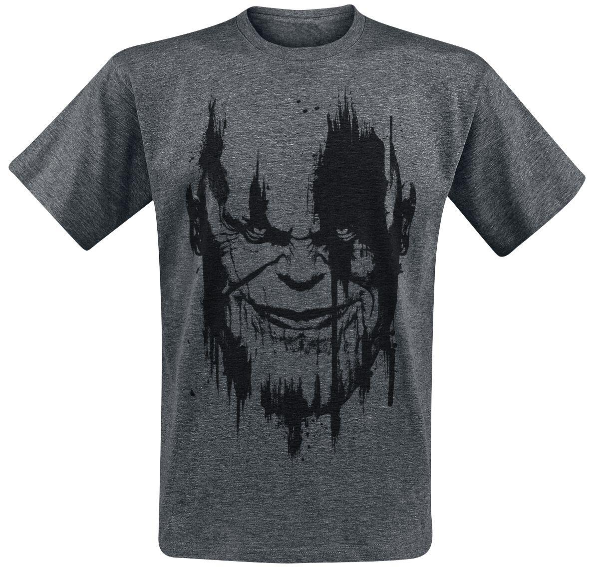 Merch dla Fanów - Koszulki - T-Shirt Avengers Infinity War - Thanos T-Shirt odcienie ciemnoszarego - 377549