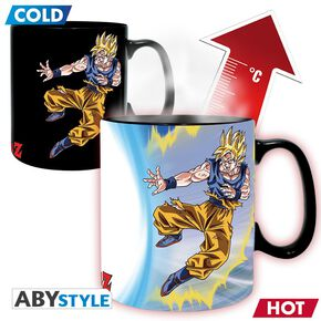 Dragon Ball Z - Goku vs Buu - Mug Thermoréactif Mug multicolore