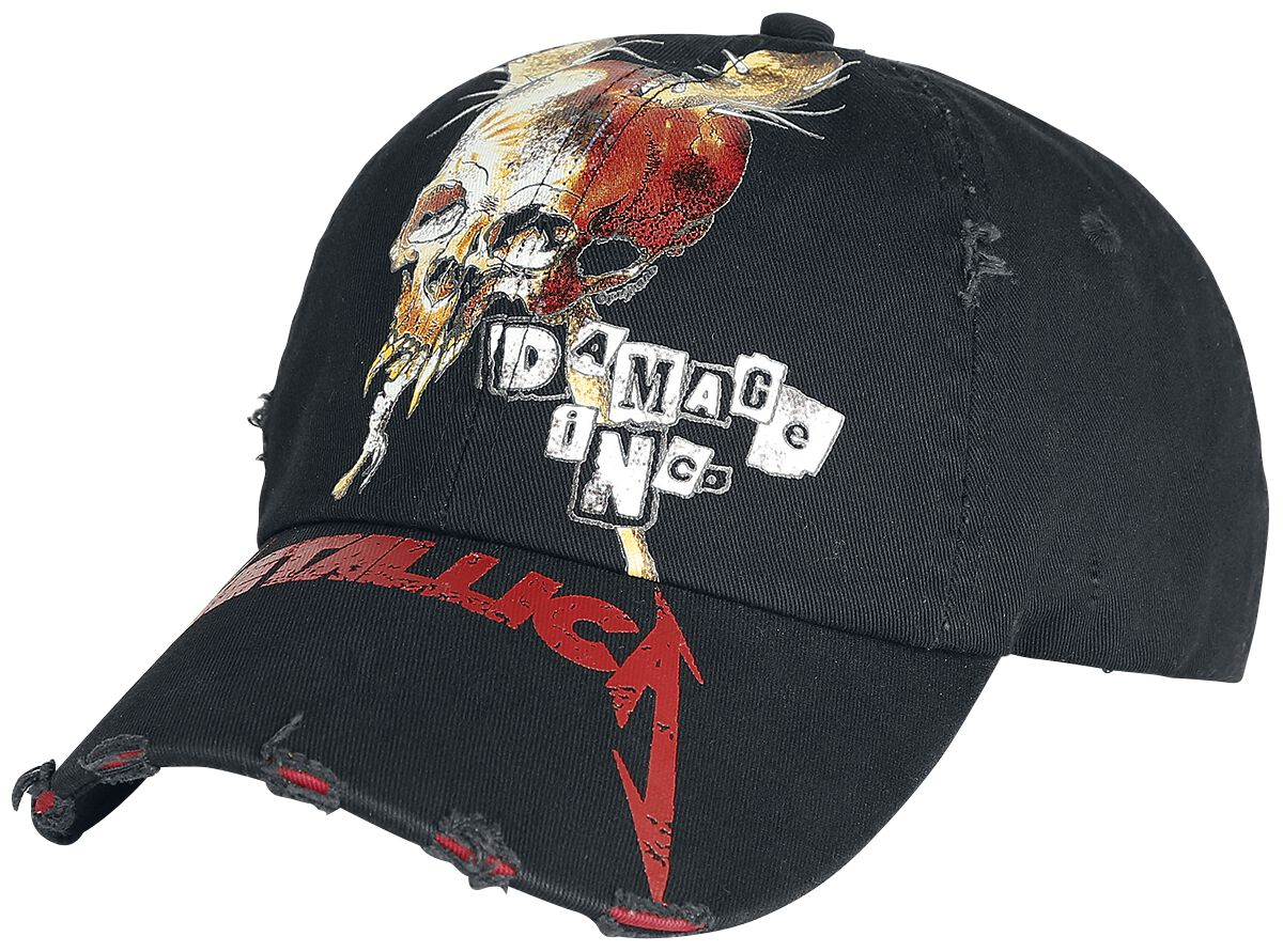 Image of   Metallica Distressed Baseball Cap sort