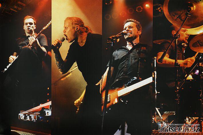 Image of   Böhse Onkelz Live 1999 Plakat multifarvet