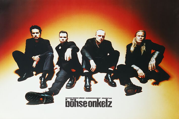 Image of   Böhse Onkelz Bandposter 98/99 Plakat multifarvet
