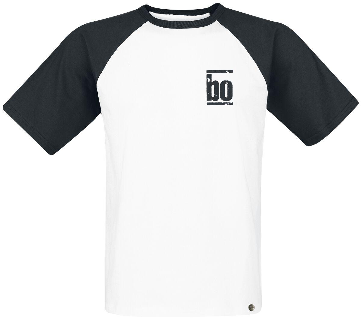 Image of   Böhse Onkelz Hockenheimring 2014 Unendlichkeit T-Shirt hvid-sort