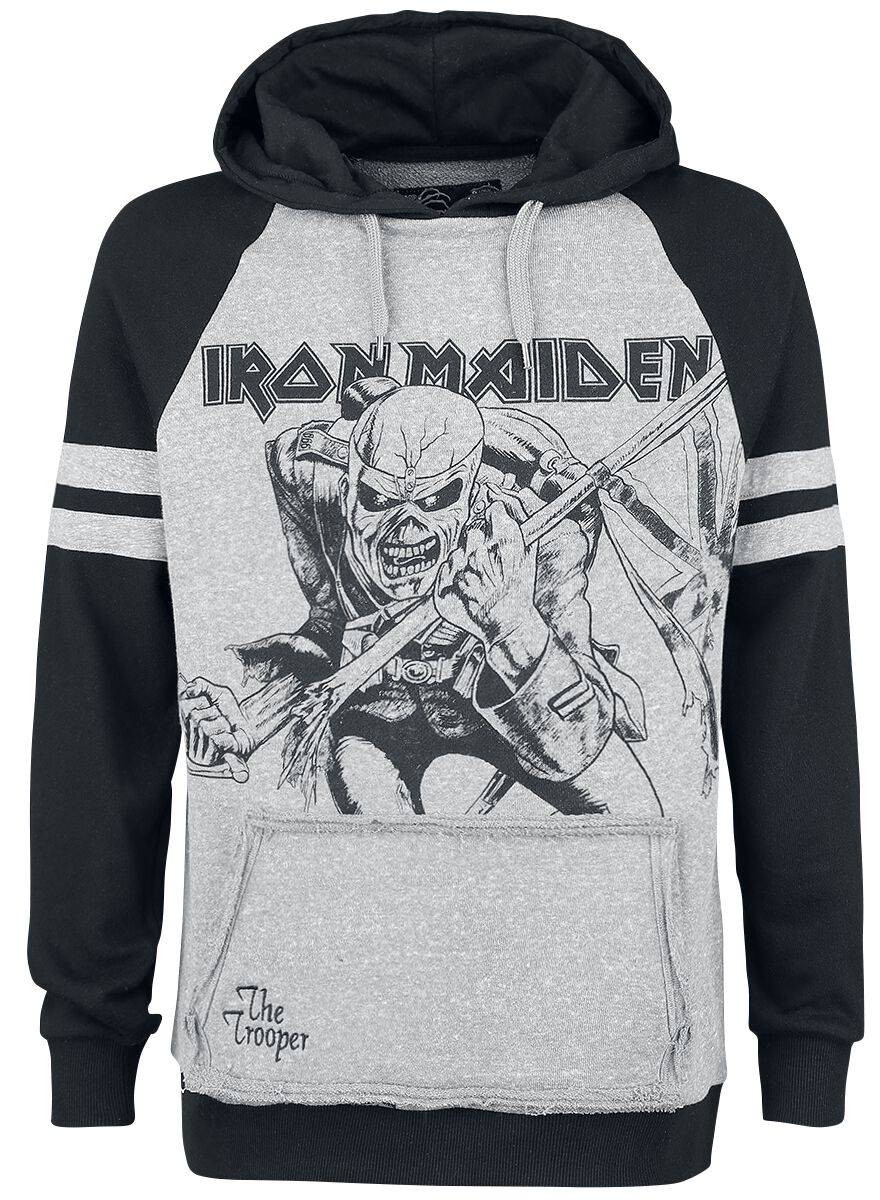Image of   Iron Maiden EMP Signature Collection Hættetrøje blandet grå-sort