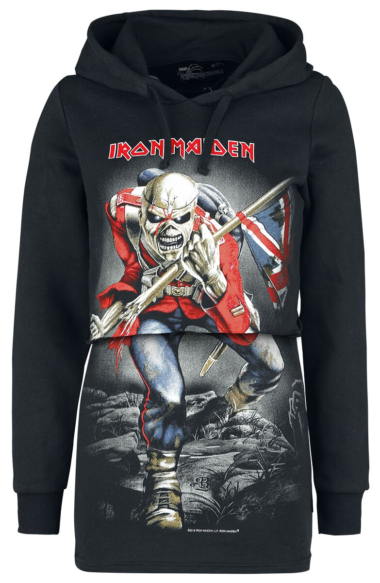 Image of   Iron Maiden EMP Signature Collection Girlie hættetrøje sort