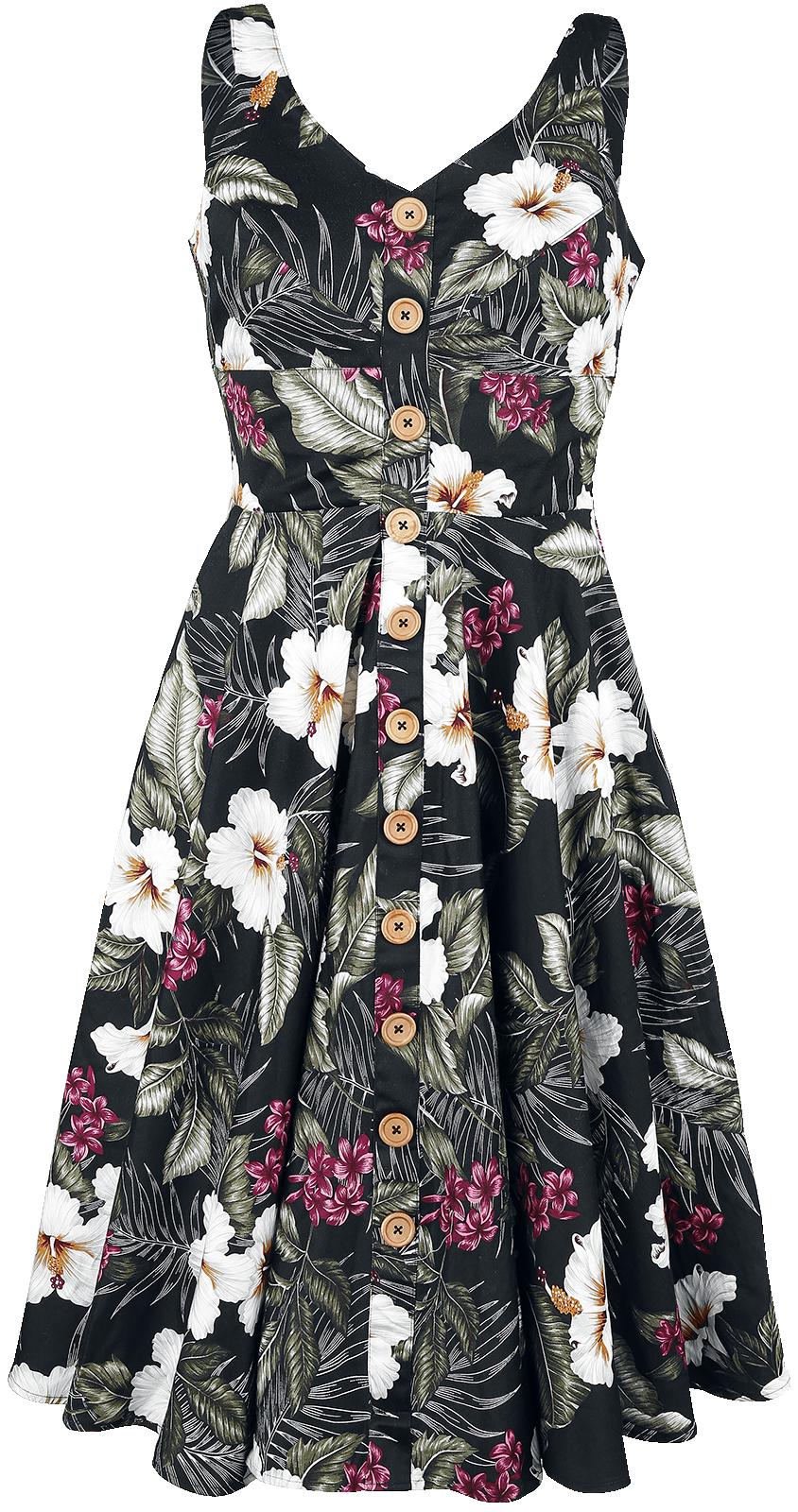 Hell Bunny - Tahiti 50's Dress - Dress - black image