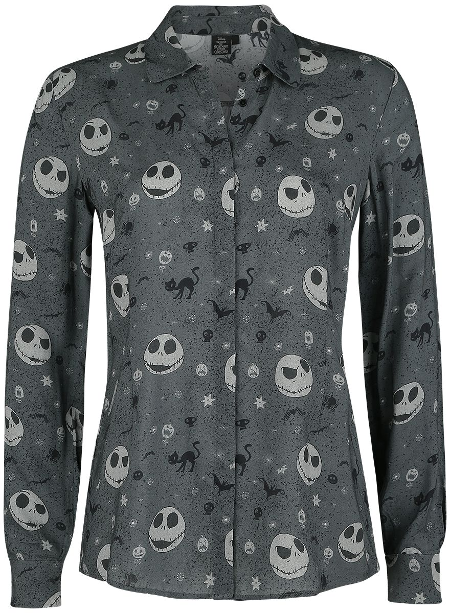 Image of   The Nightmare Before Christmas Jack Bluse grå