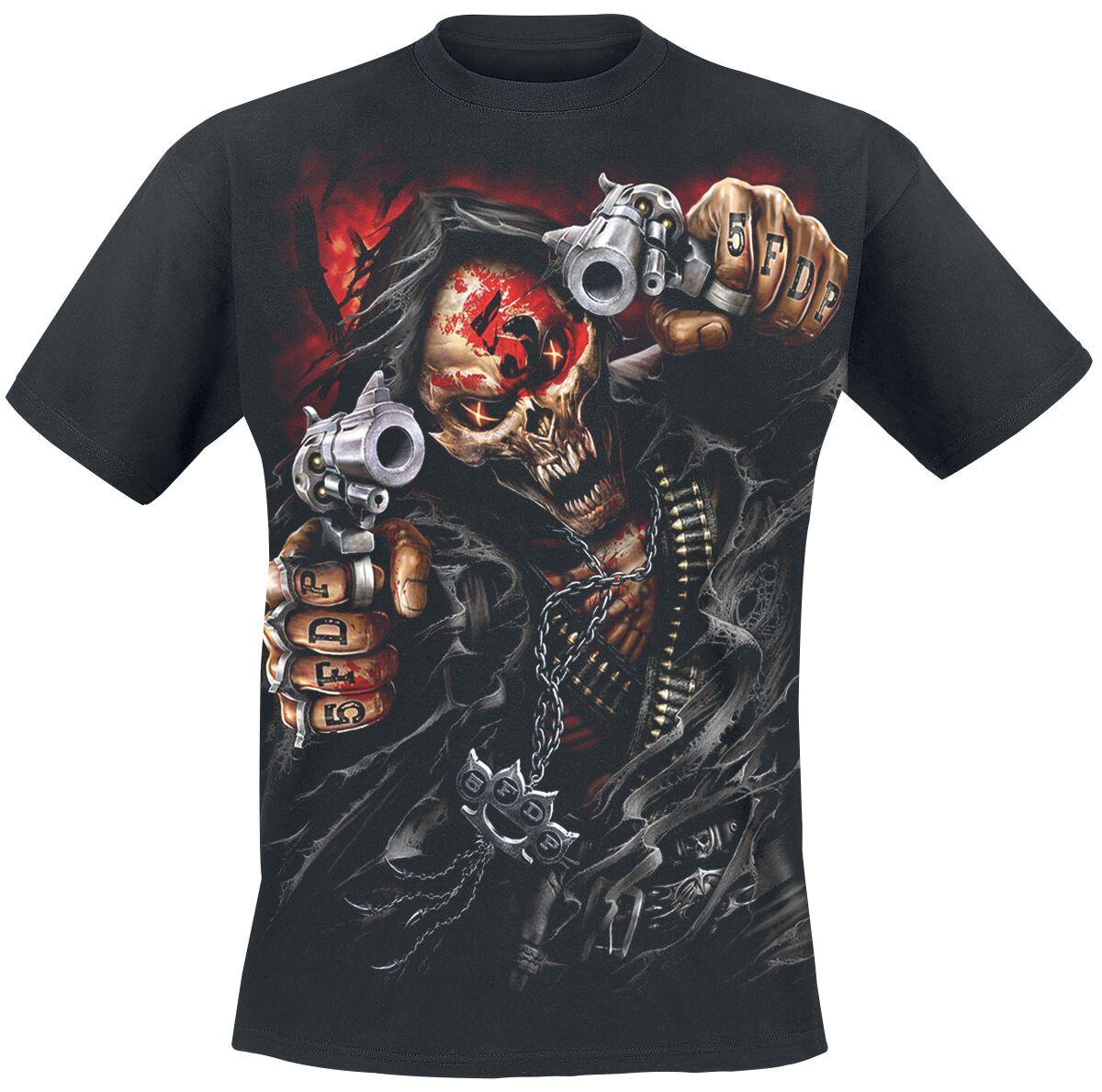 Image of   Five Finger Death Punch Assassin T-Shirt sort