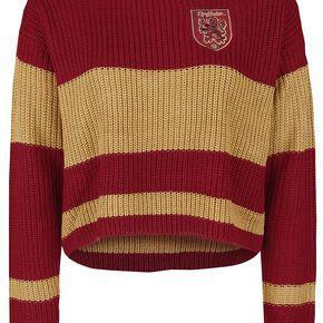 Harry Potter Gryffondor Sweat-shirt Femme rouge/jaune
