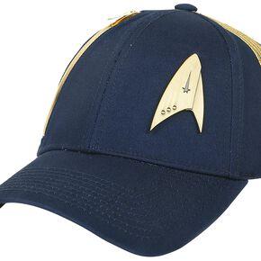 Star Trek Discovery - Logo Métallique Casquette Baseball marine