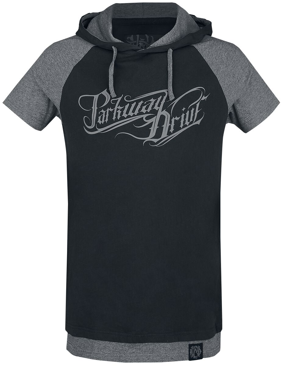 Image of   Parkway Drive EMP Signature Collection T-Shirt meleret sort-gå